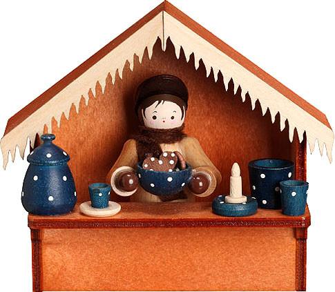 Romy Thiel Marktbude Blaues Keramik