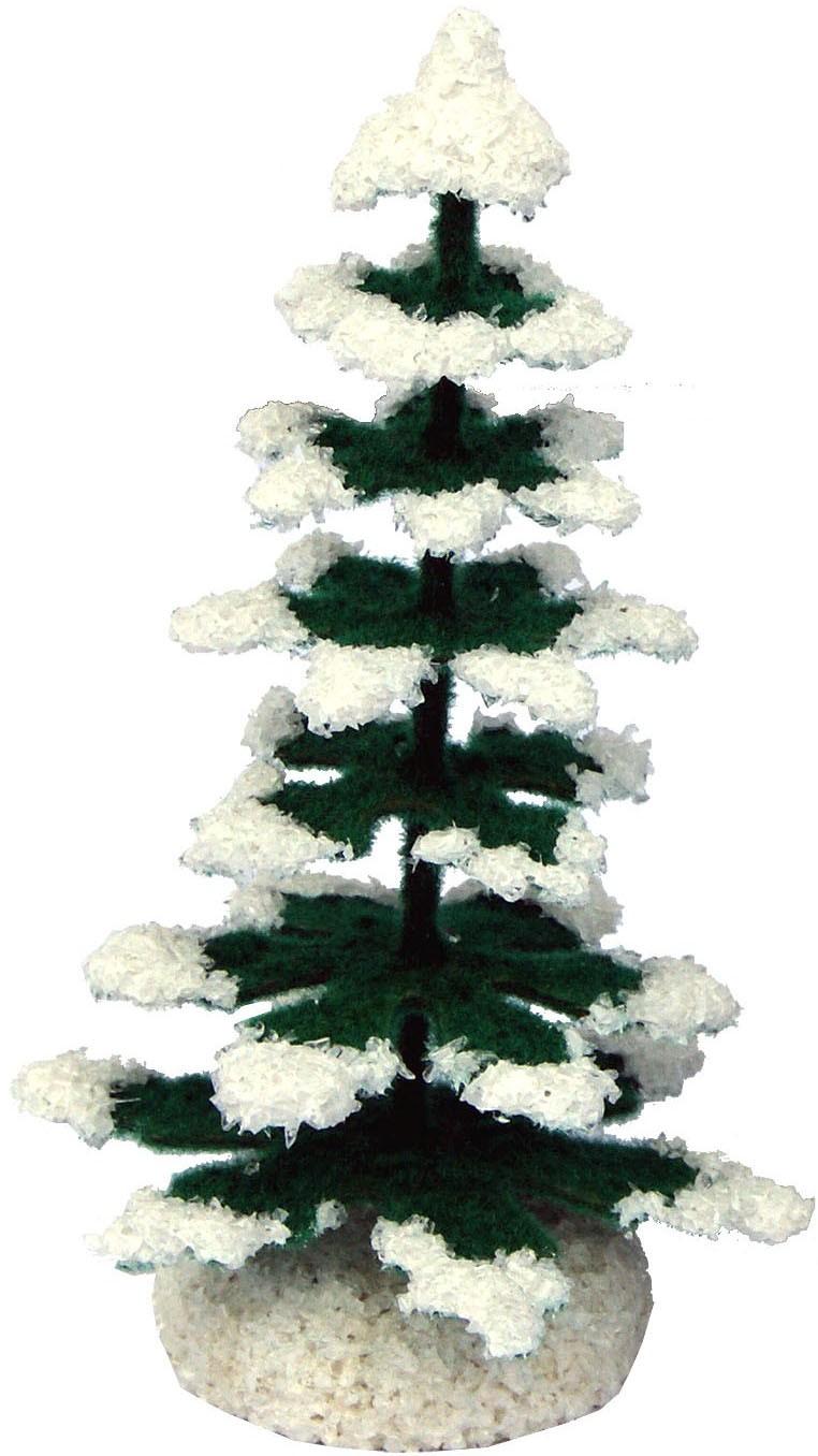 Romy Thiel Weihnachtsbaum, grün/weiß - 8 cm