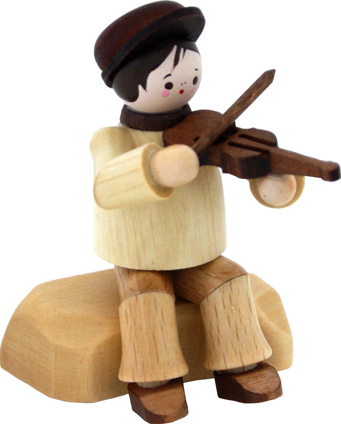 violinist, sitting - natur