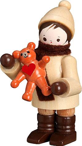 Romy Thiel Mein kleiner Freund - Junge mit Teddy, natur