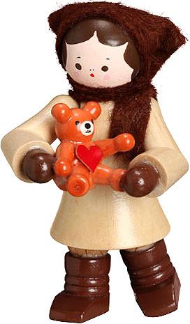 Romy Thiel Mein kleiner Freund - Mädchen mit Teddy, natur
