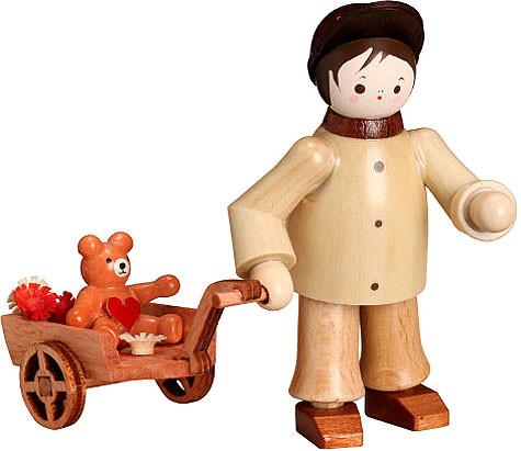 Romy Thiel Mein kleiner Freund - Junge mit Teddy im Wagen