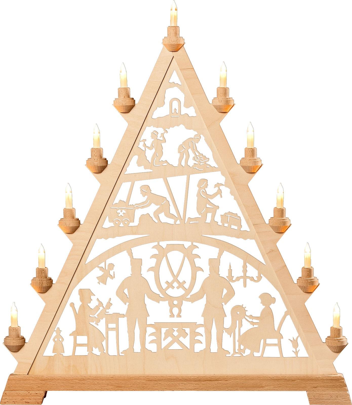 candle arch triangle - Erzgebirge