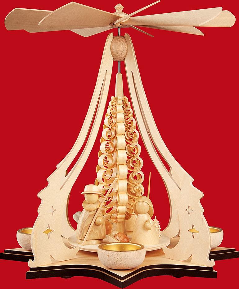 Taulin Teelichtpyramide Heilige Familie, modern