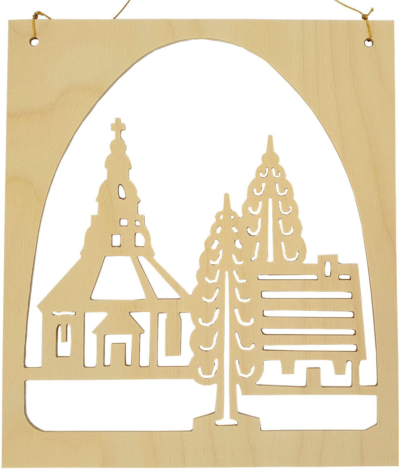 Seiffener Handwerksschau Fensterbild Seiffen