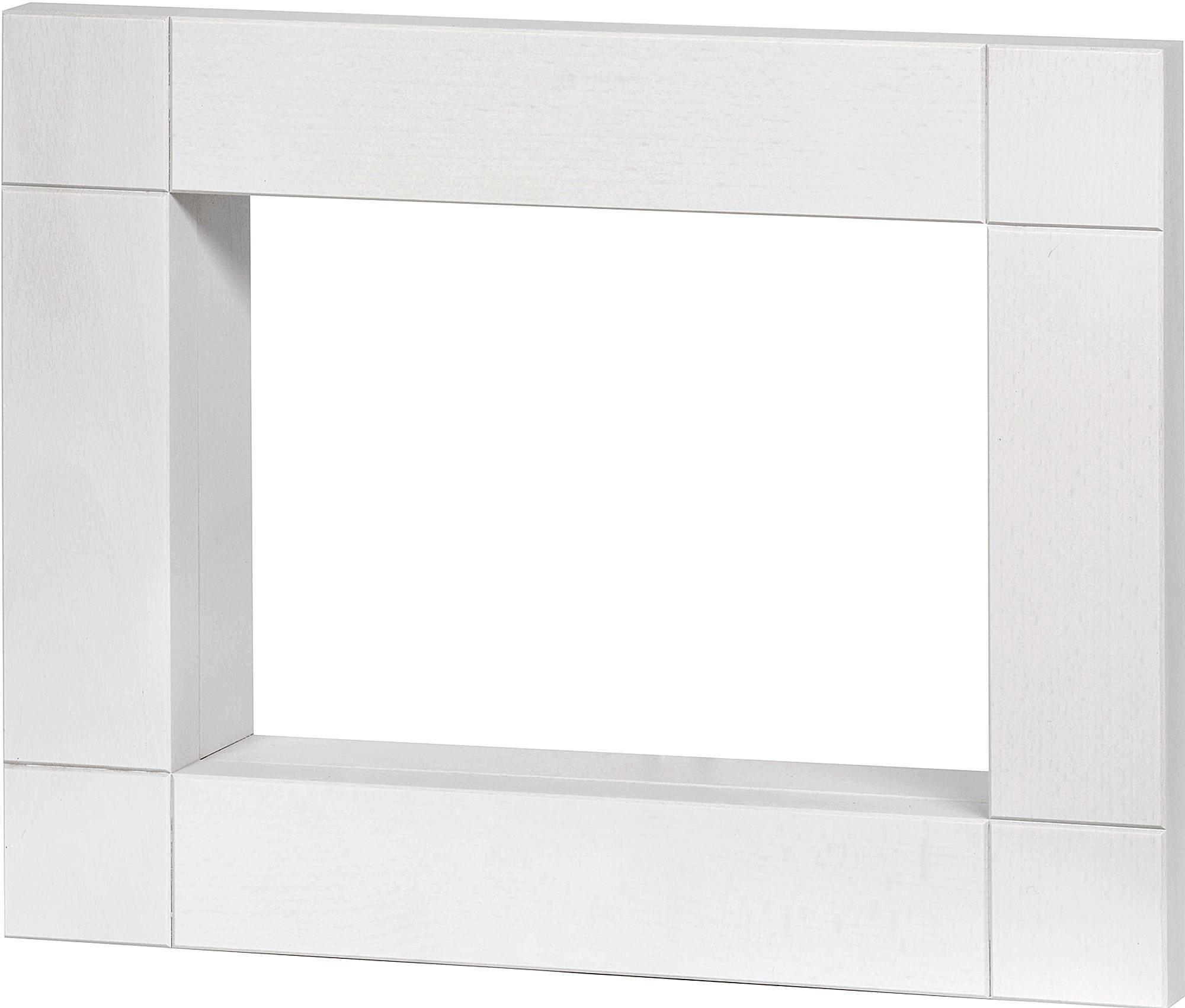 KWO Rahmen, weiß lasiert - klein