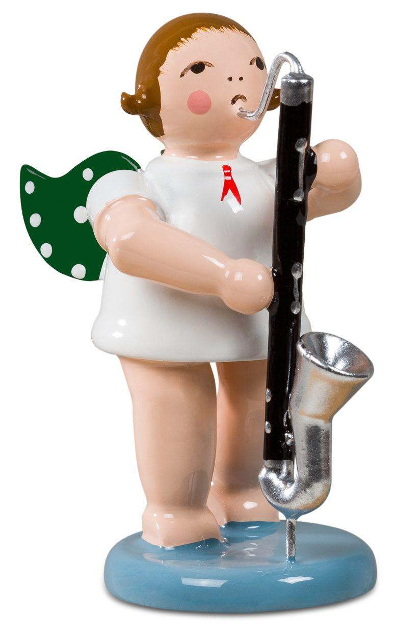Ellmann Engel mit Bassklarinette, ohne Krone