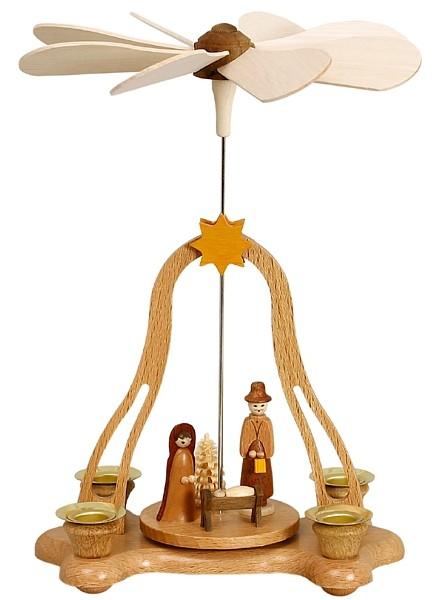 Zeidler Tischpyramide, mit Christi Geburt