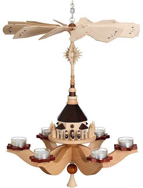 Zeidler Hängepyramide Seiffener Kirche