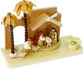 Crib christi nativity oriental