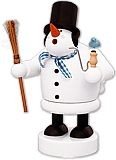 incense smoker, snowman -the thicknesses men-
