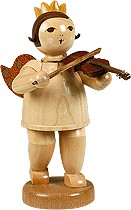 big angel with violin -8.66 inches-