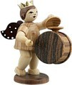 Angel with big Drum and Basin Natural