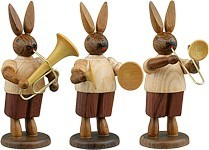 Rabbit Musican 3Part Natural
