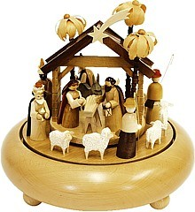 musical box Nativity, 36 polyphonic plaything