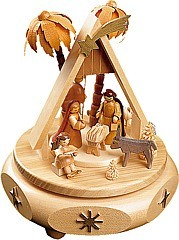 musical box Nativity, 18 polyphonic plaything