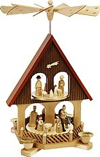 pyramid house, Nativity