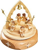 musical box Concert of Angels natural, 18 polyphonic plaything
