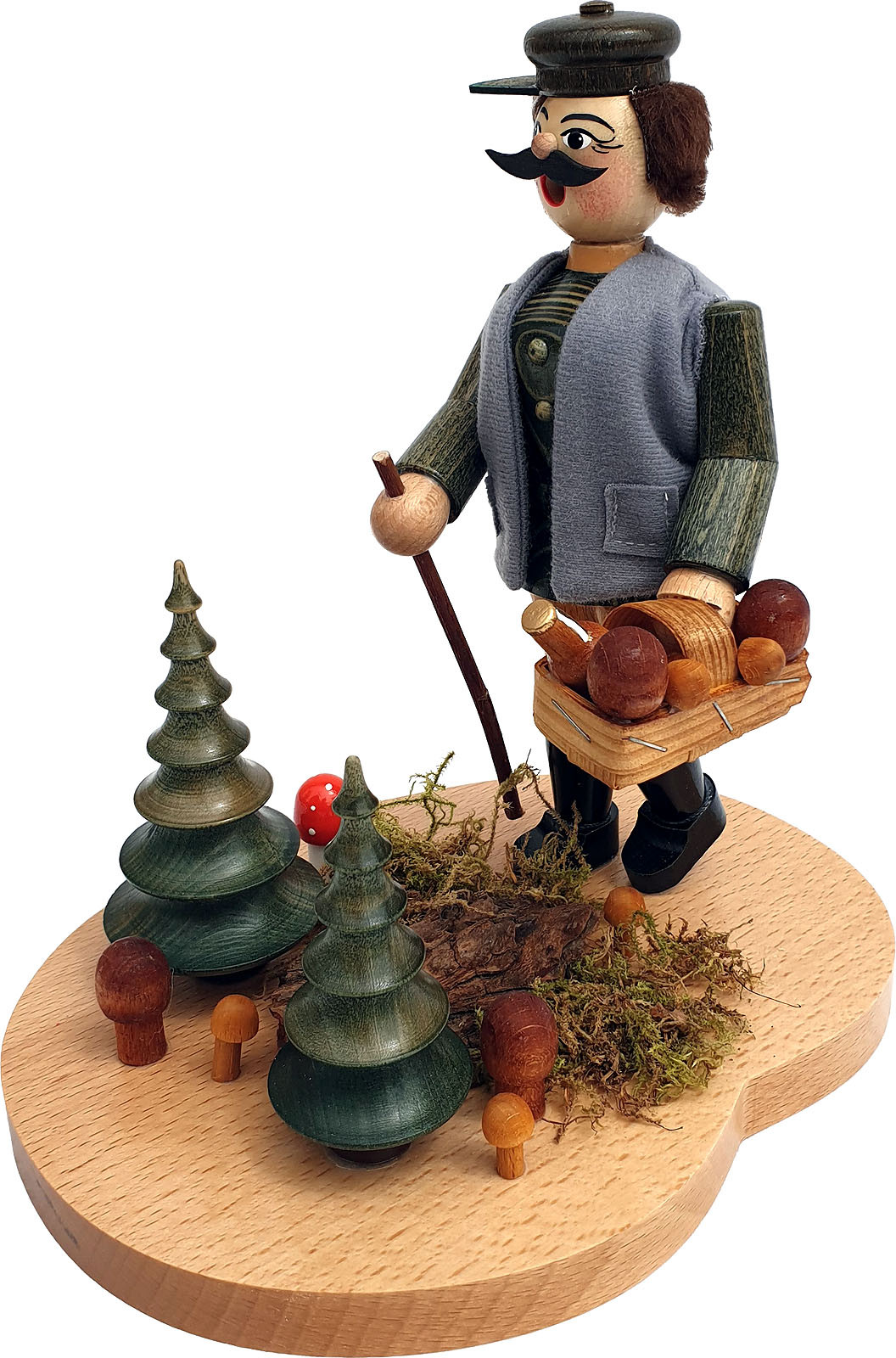 incense smoker the mushroom picker