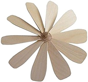fan wheel with fixed wings - 9.84 inches