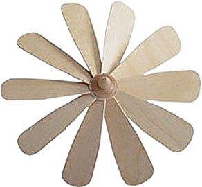 fan wheel with fixed wings - 9.06 inches