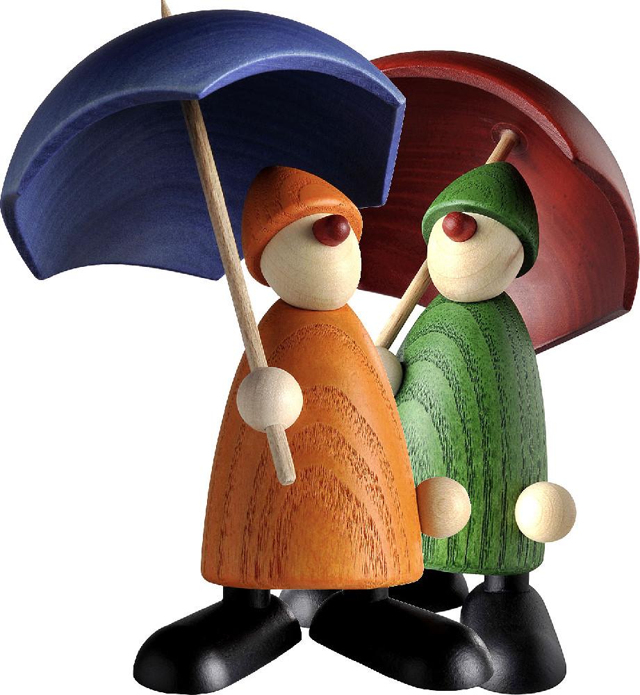 Björn Köhler Gratulant Charlie mit Schirm