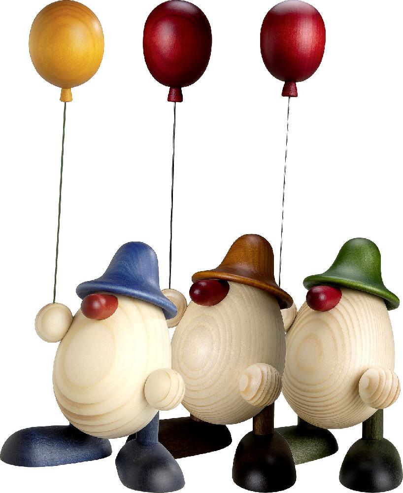 Björn Köhler Eierkopf Otto mit Luftballon