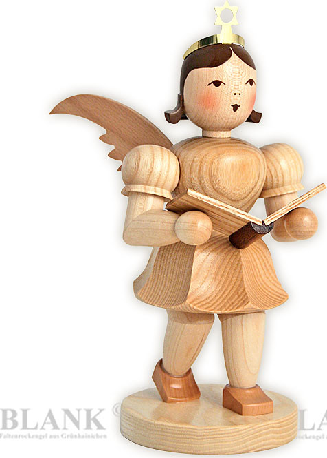 angel with short pleated skirt singer, 7.87 inches