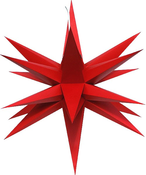 Annaberg folding star, red