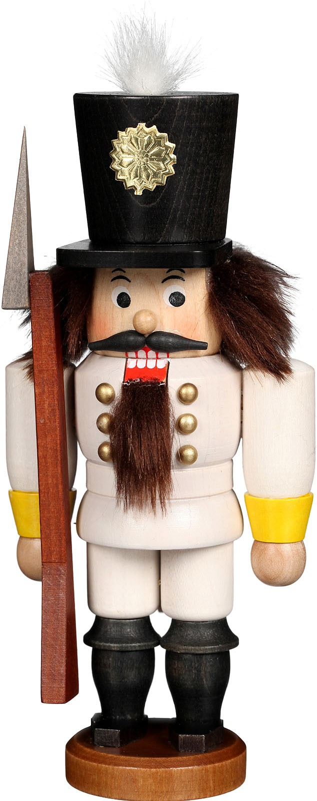 nutcracker soldier varnished