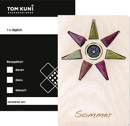Tom Kuni incense cones - summer, once a time