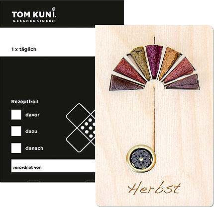 Tom Kuni incense cones - autumn, once a time