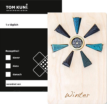 Tom Kuni incense cones - winter, once a time