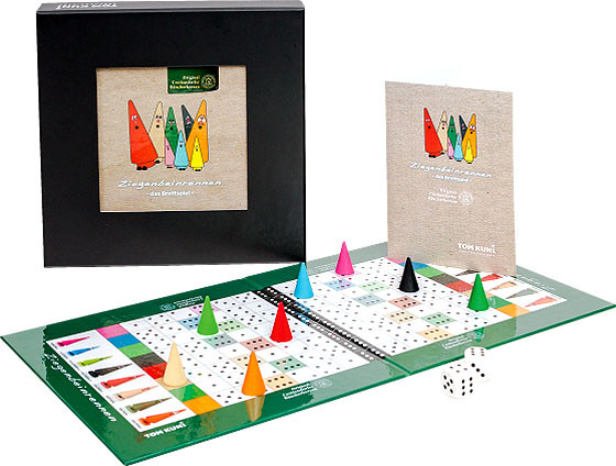 board game - goat leg race