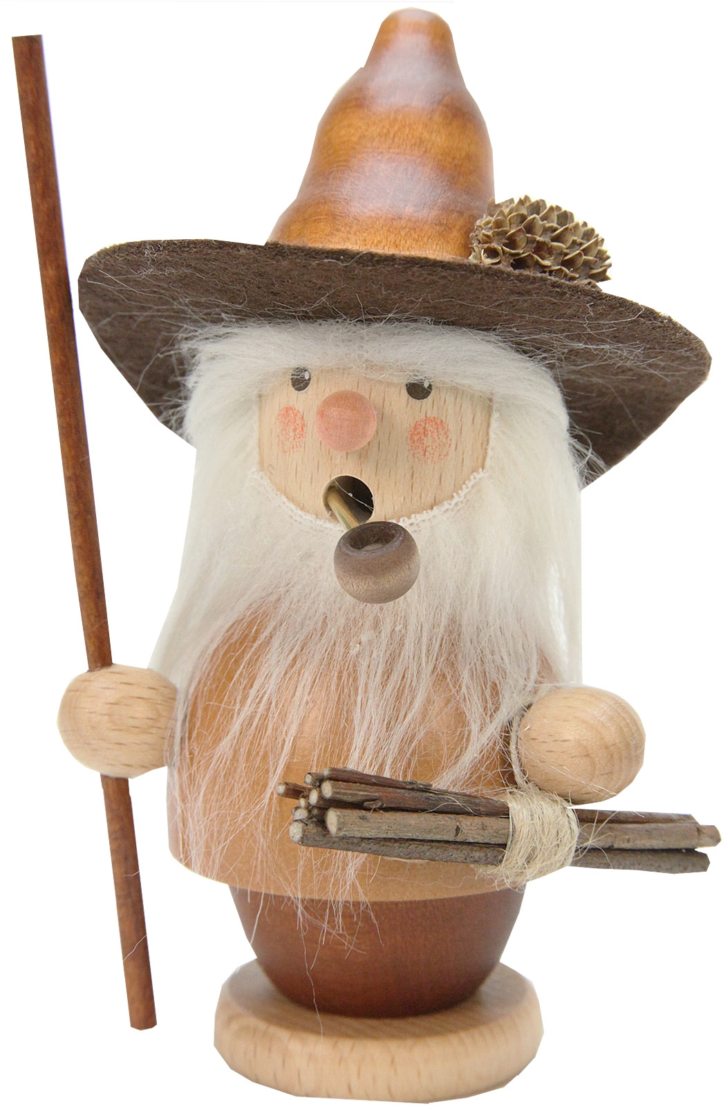 incense smoker woodsman natural