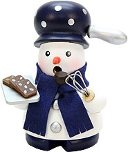 incense smoker, snowman baker