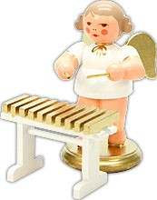 angel with xylophone