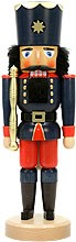nutcracker king blue varnished