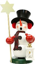 incense smoker, snowman star holder