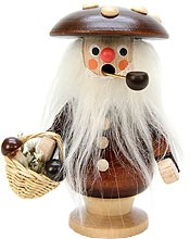 incense smoker mushroom man natural