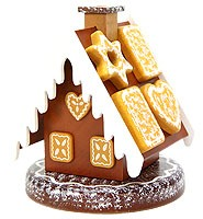 incense smoking house - gingerbread house