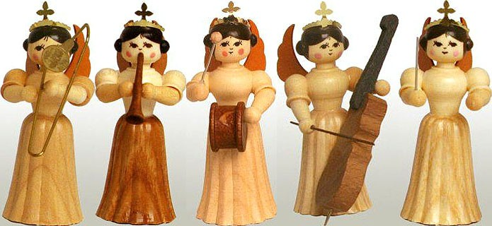 angel assortment 2, natural, small