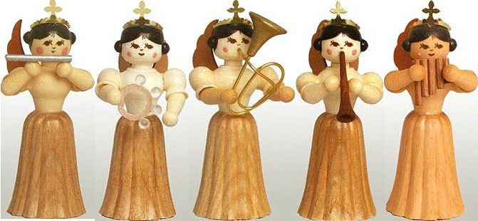 angel assortment 5, natural, small