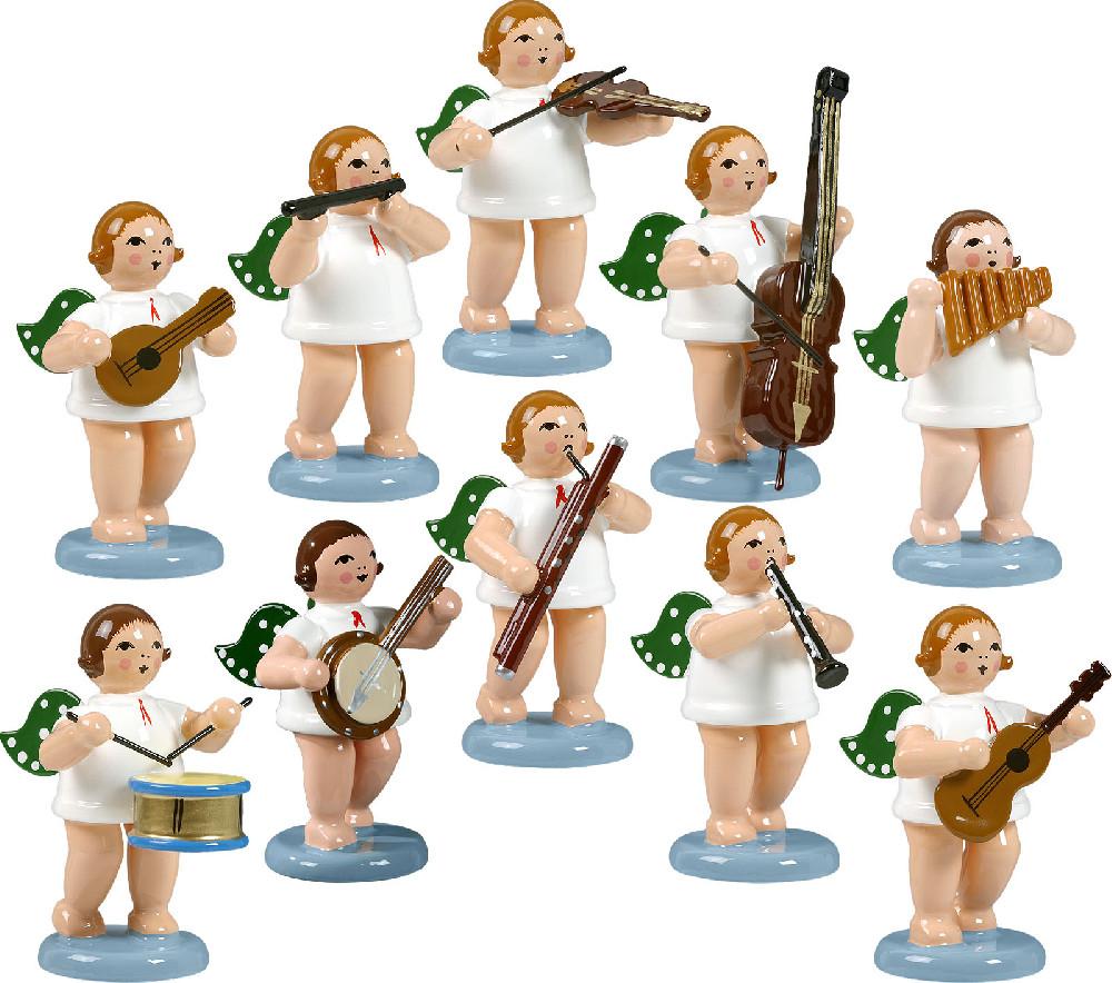 Ellmann Engelmusikanten 10-teilig, Variante 2