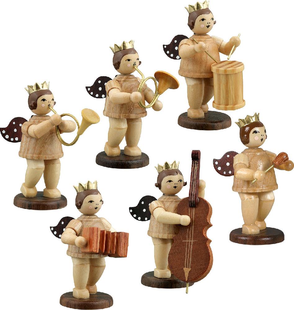 Ellmann Engelmusikanten 6-teilig, Variante 6 - natur