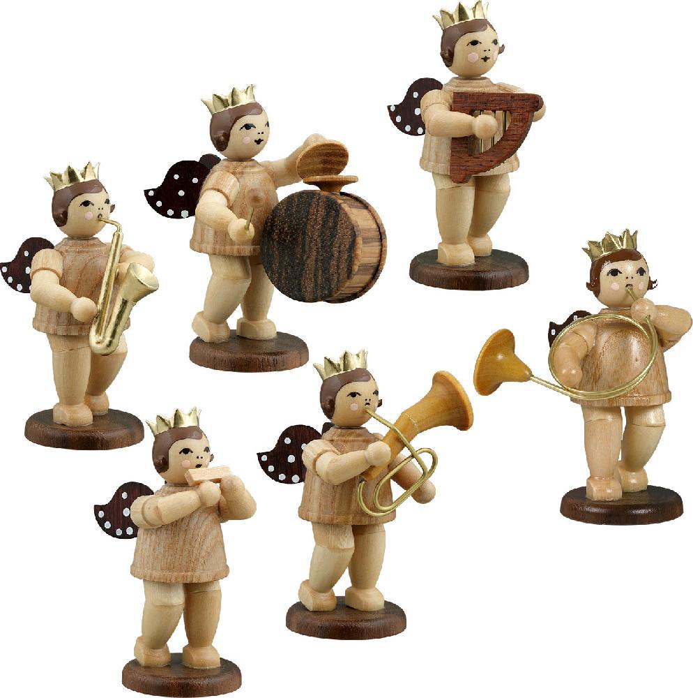 Ellmann Engelmusikanten 6-teilig, Variante 7 - natur