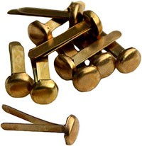 replacement clips for Herrnhut stars, inside - brass