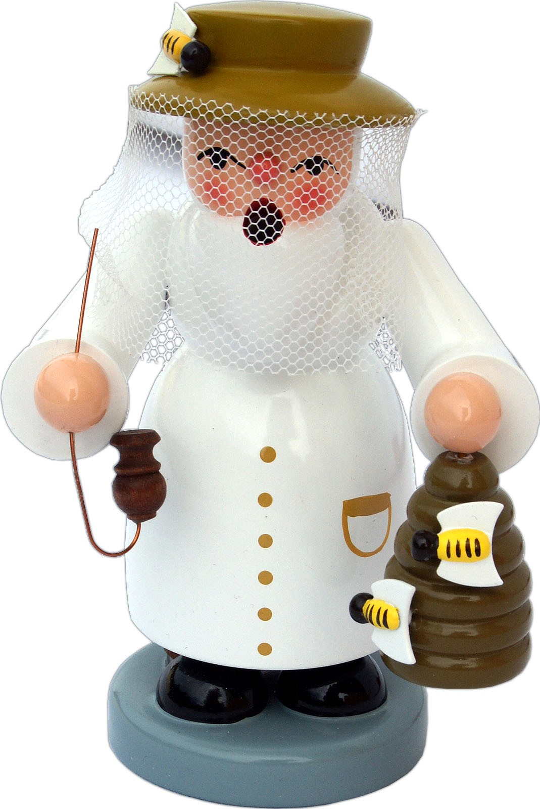 incense smoker, beekeeper