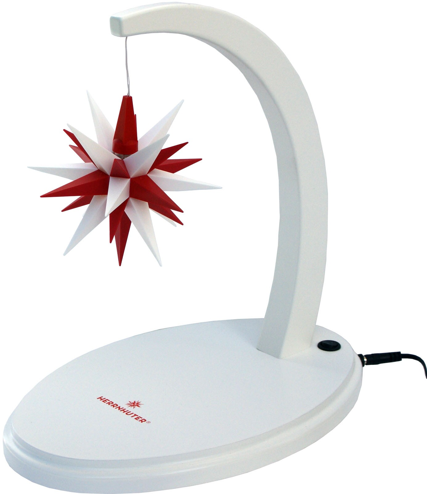 Herrnhuter starbow A1e, white/red