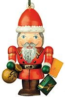 tree ornament, nutcracker - Santa Claus